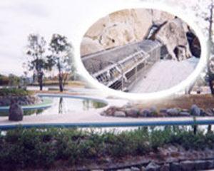 遊水池噴水設備